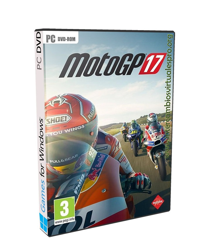 MotoGP 17 poster box cover