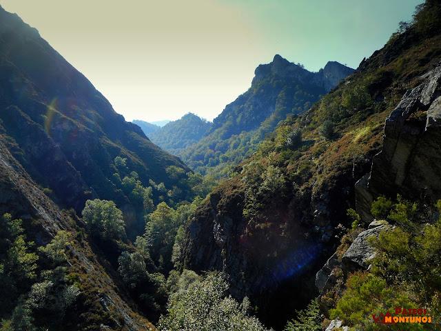Desfiladero de Los Arrudos: Vistas