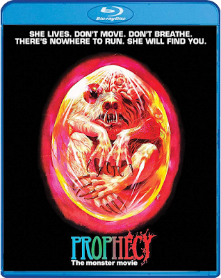 Cover art for Scream Factory's new Blu-ray of PROPHECY (1979)!