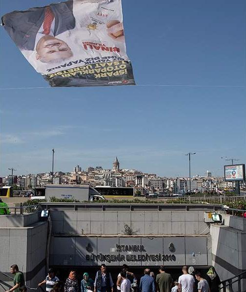 Λευκή πετσέτα έριξε ο Ερντογάν στην Κωνσταντινούπολη