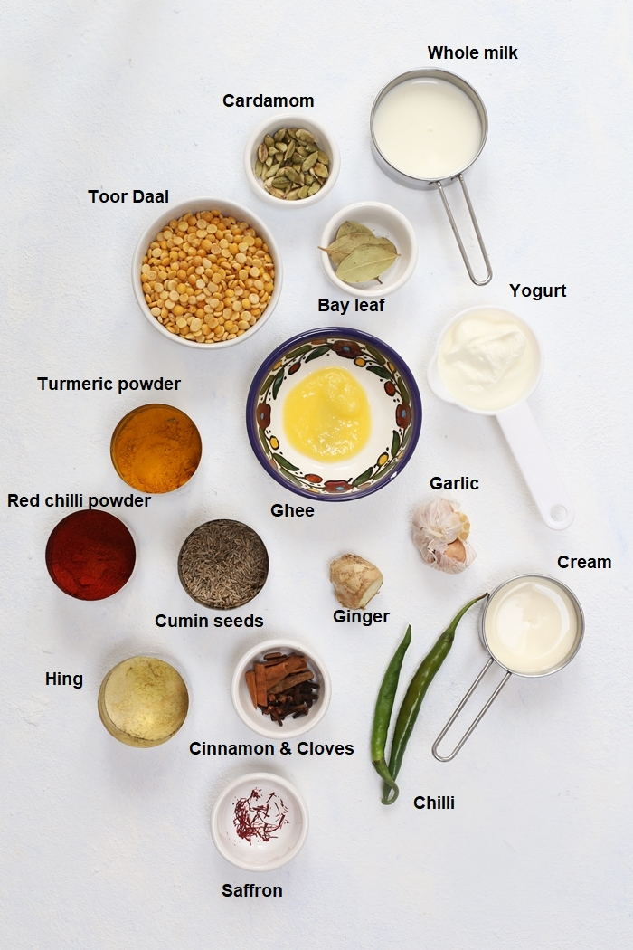 ingredients for sultani daal