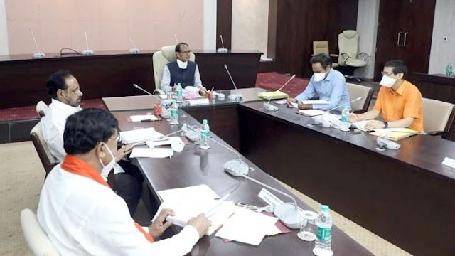 नर्मदा घाटी परियोजनाओं में अंतिम किसान के खेत तक पानी पहुँचे - मुख्यमंत्री चौहान