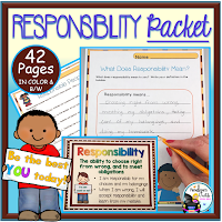 Responsibility Character Education
