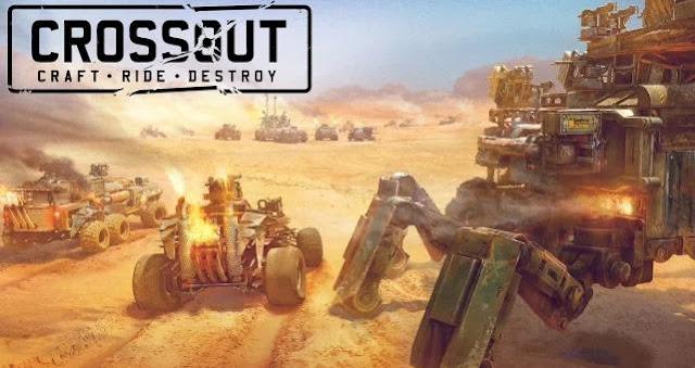 Guerras entre clãs no jogo Crossout