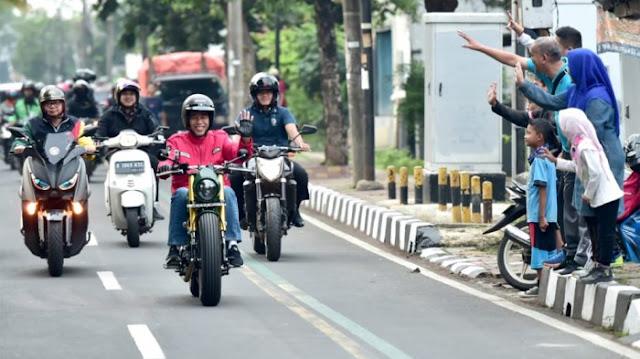 Soal Lampu Motor Jokowi Mati, Ini Penjelasan Katros Garage