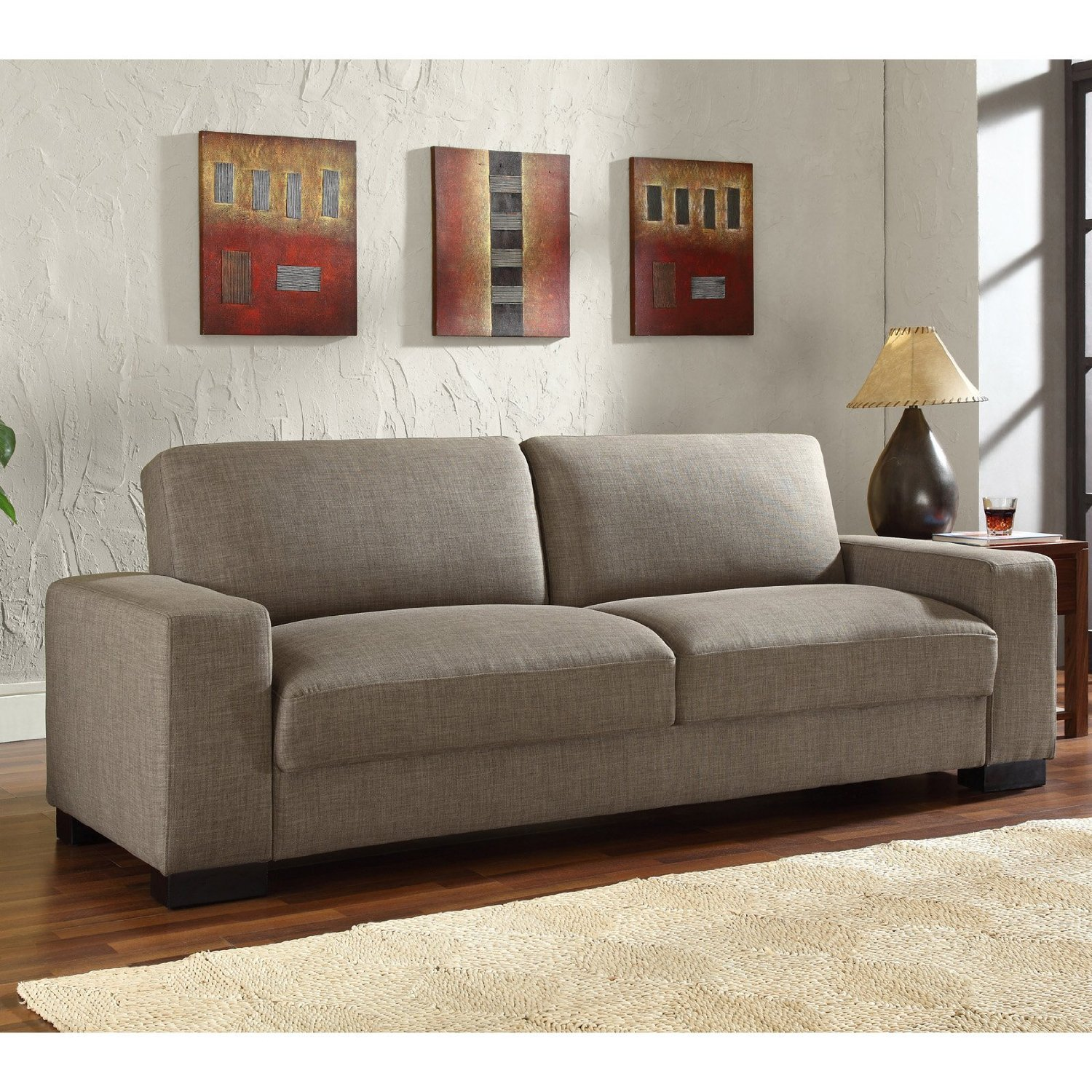 Convertible Sofa: Leather Convertible Sofa Bed