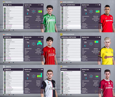 PES 2019 Option File SP20 Season 2019/2020