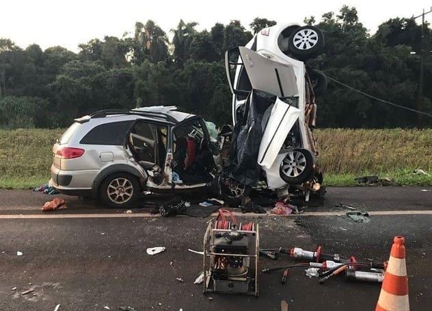 Acidente na BR 277 deixa quatro mortos