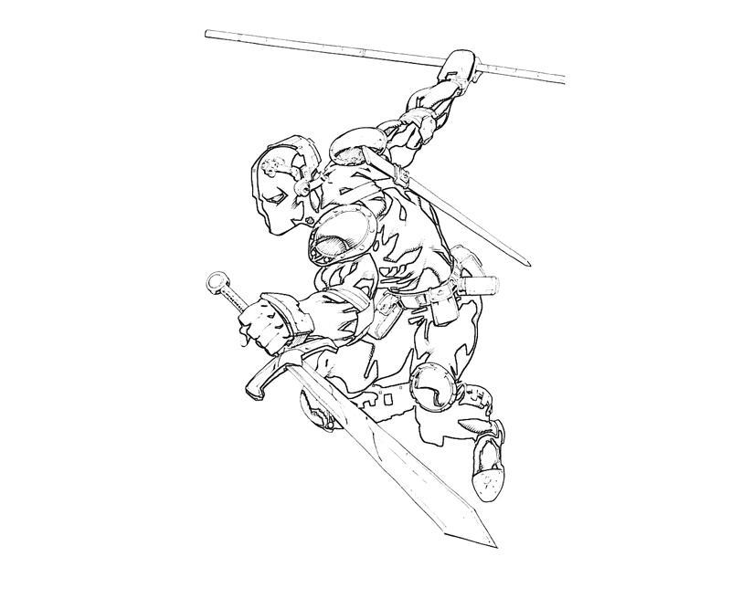 coloring pages of deathstroke costume   DC Universe Deathstroke Abilities   Yumiko Fujiwara