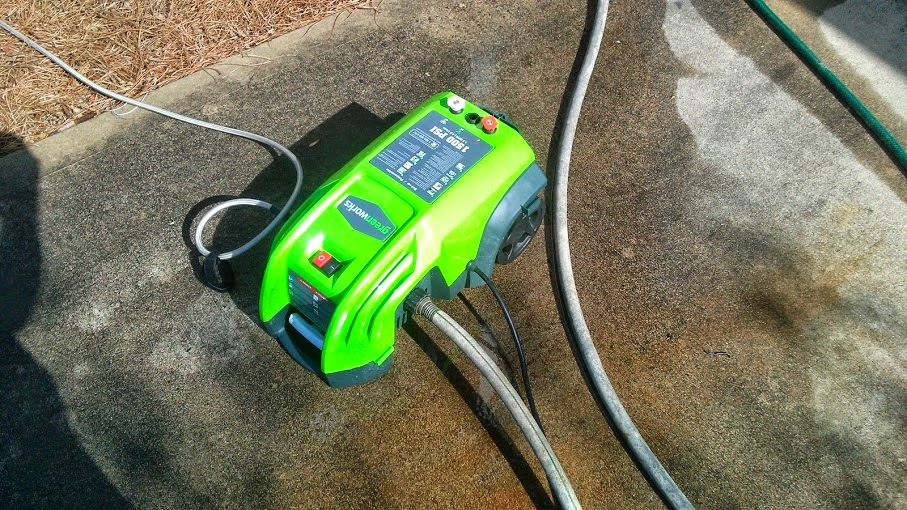 Greenworks 1500-PSI 1 3-GPM Electric Pressure Washer Review