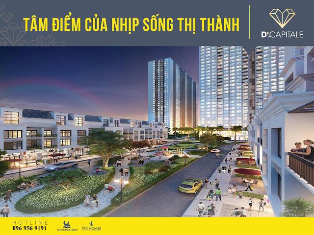 D' Capitale - Trung tâm của trung tâm mới