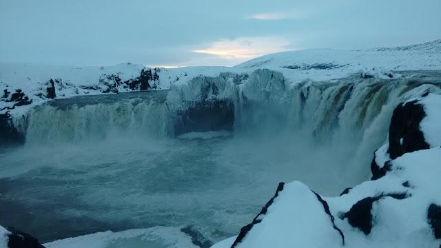 Goðafoss, islandzki wodospad