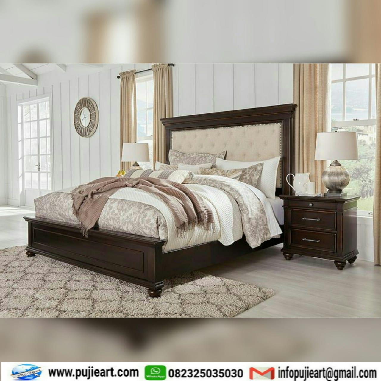 Gambar Set Kamar Tidur Jati Jepara Furniture Kamar Murah ...