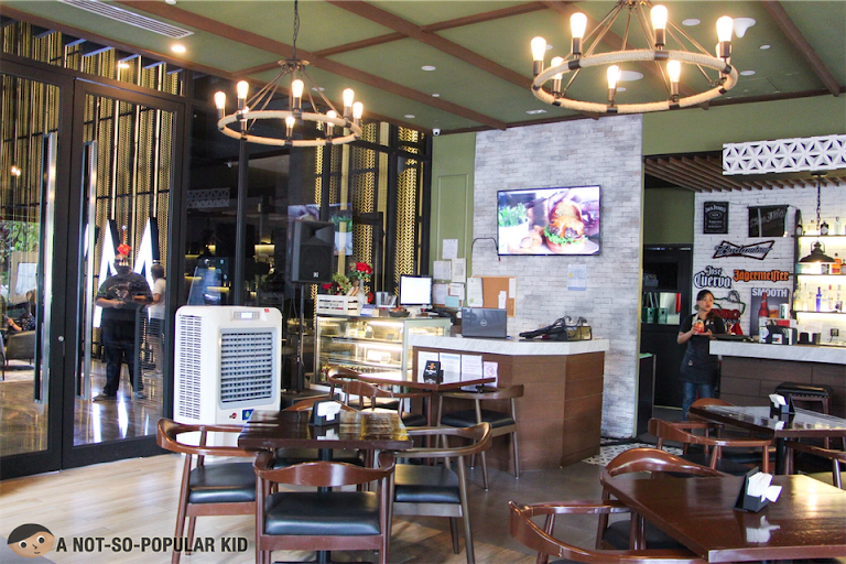 Interior of Hops & Brews in Poblacion, Makati