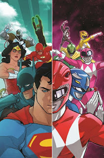 JUSTICE LEAGUE & POWER RANGERS Crossover Comic