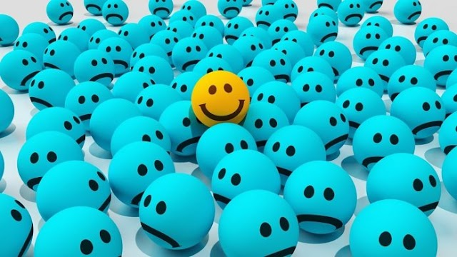 Os seres humanos não são projetados para serem felizes
