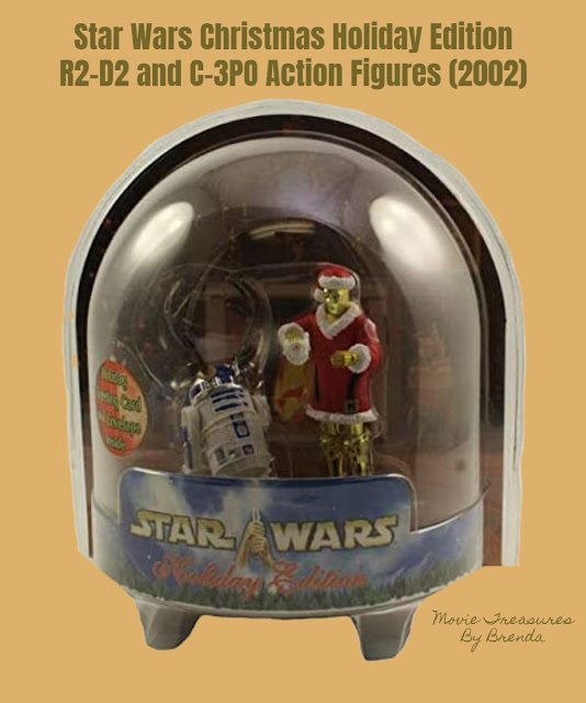 Star Wars Christmas Holiday Edition R2-D2 and C-3PO Action Figures (2002)