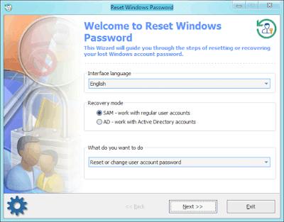 Windows Password Remover Tool طريقة ازالة باسوورد ويندوز 10 8 1
