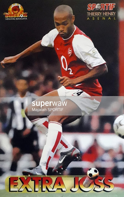 POSTER THIERRY HENRY ARSENAL 2003