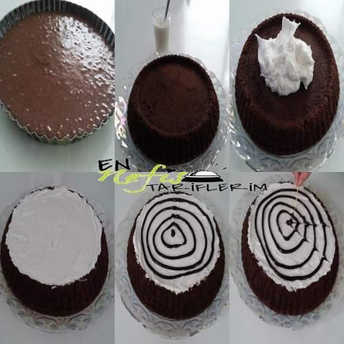 Kremalı Kakaolu Kek Nasıl Yapılır