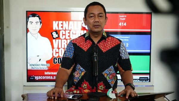 Wali Kota Semarang Hendrar Prihadi Positif Corona