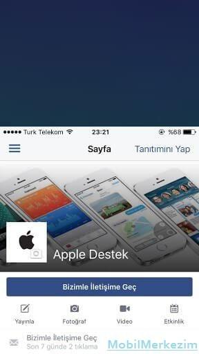 Menü Tuşuna 2 Kere Dokunulduktan Sonraki Görüntü - iPhone Tek Elle Kullanma ( Bilinmeyen iPhone Özellikleri )