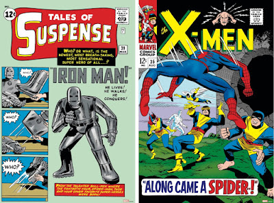Iron Man, X-Men and Spider-Man Cover Art Prints by Marvel Comics x Grey Matter Art