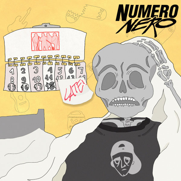 "Numero Nero stream new album ""Late"""