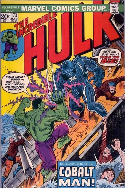 Incredible Hulk #173, Cobalt Man