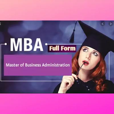 MBA Full Form