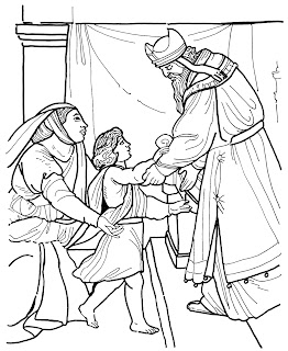 Hannah Prayed Coloring Page Coloring Pages
