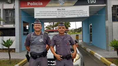 DESPEDIDA DO CABO WALTER EMOCIONA POLICIAIS MILITARES EM REGISTRO-SP