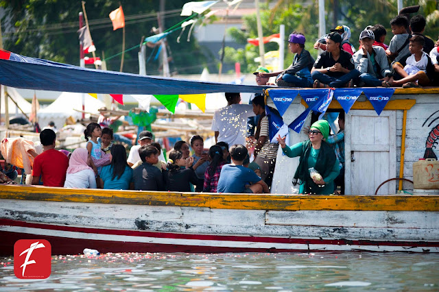 Foto Hari Nelayan di Palabuhanratu Sukabumi