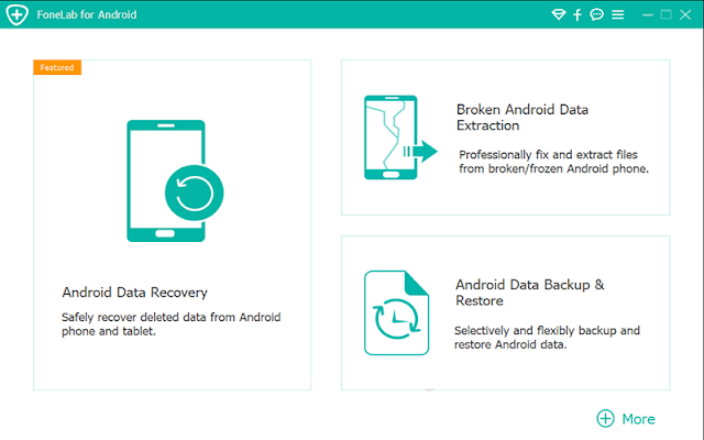 Aiseesoft FoneLab cho Android 3.1.8 Repack - Phục hồi dữ liệu Android