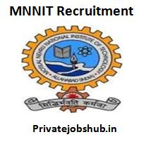 MNNIT Recruitment
