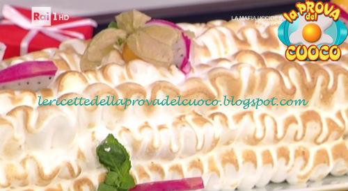 Tronchetto Di Natale La Prova Del Cuoco.Tronchetto Al Cioccolato Bianco E Frutta Esotica Ricetta