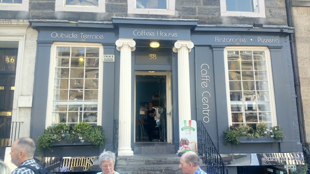 Edinburgh   Lunch at Caffe Centro Review