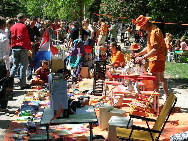 King's Day no Vondelpark