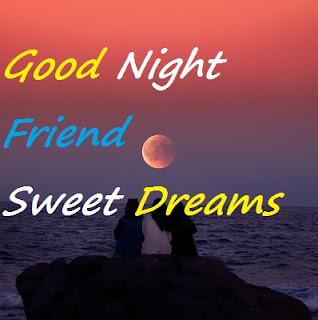 good night my dear friends images