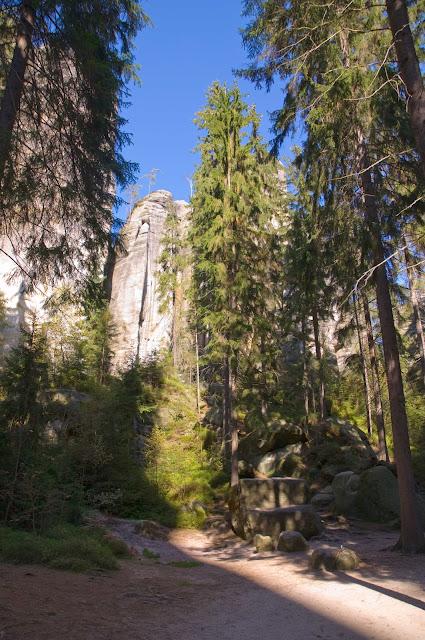 formacje skalne Adrszpaskie Skalne Miasto