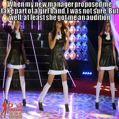 Having an audition again - Sissy TG Caption