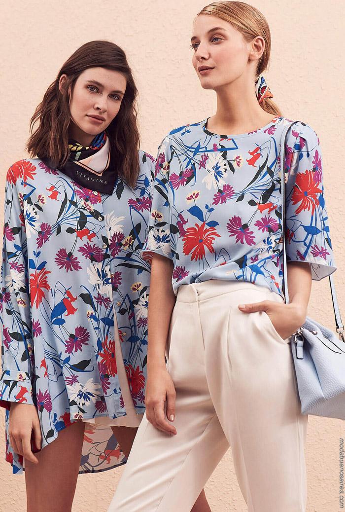Blusas primavera verano 2020. Moda mujer primavera verano 2020.
