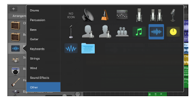 Can you record on GarageBand Iphone?