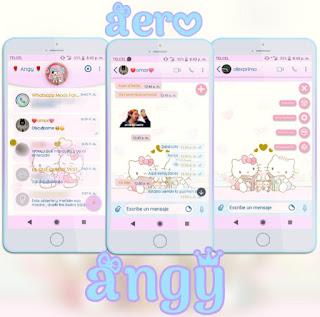 Hello Kitty 2 Theme For YOWhatsApp & Fouad WhatsApp By ave fénix