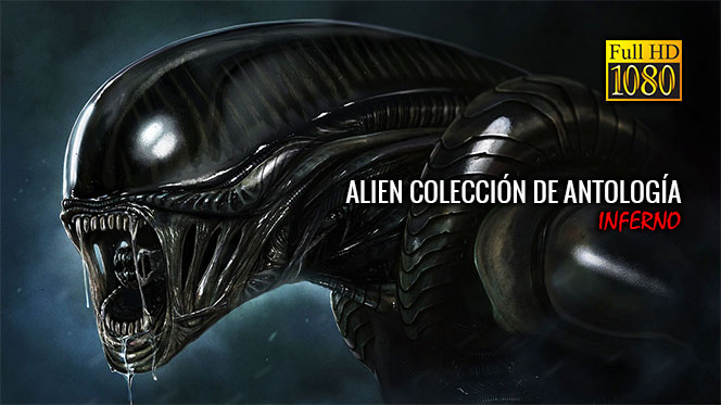 Alien Colección de Antología BluRay Rip 1080p Latino-Castellano-Inglés