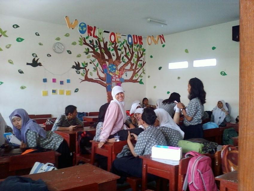 Contoh Hiasan Kelas Sma | Materi Pelajaran 10