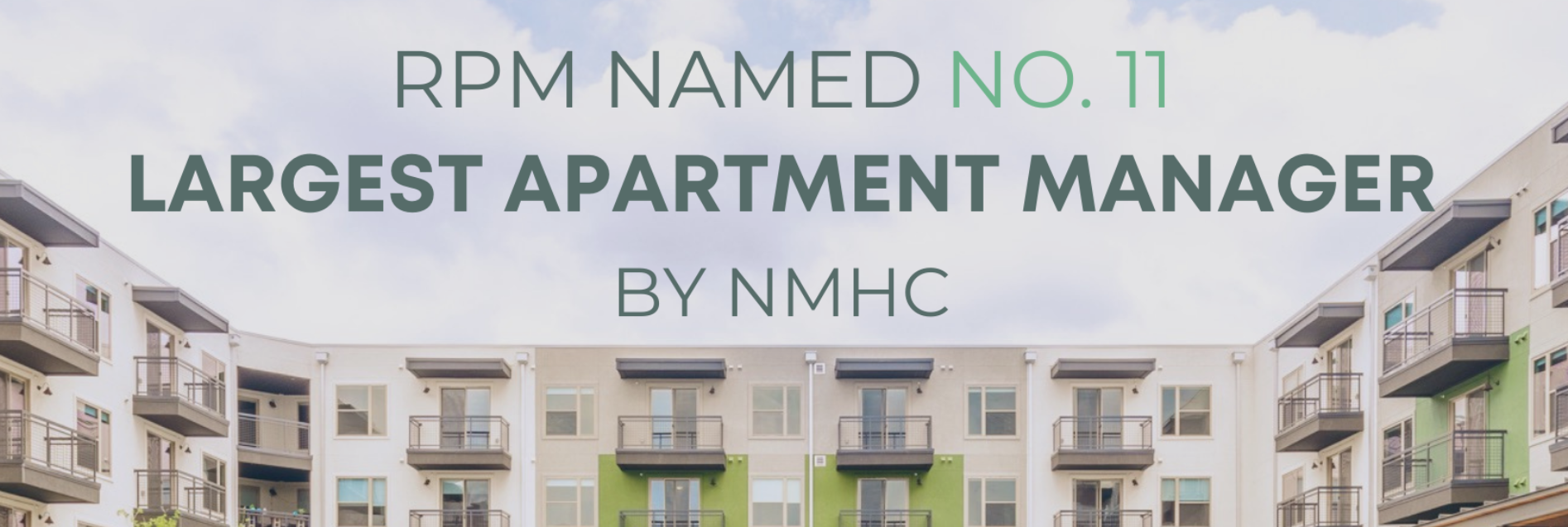 RPM Soars to Top 15 In National Multifamily Housing Council's List of Apartment Managers