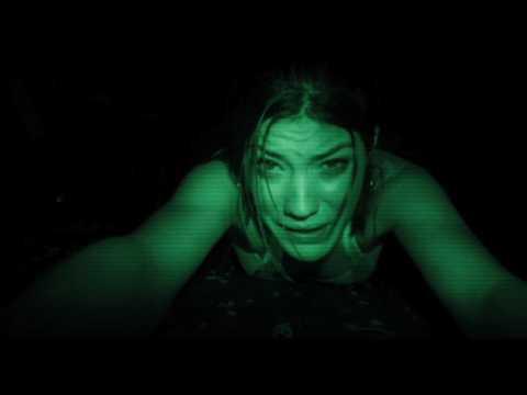 Night vision naked girl
