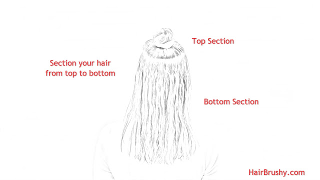 Section your hair