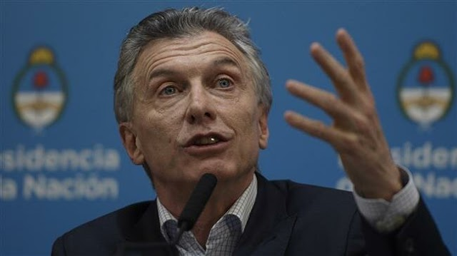 Argentina's President Mauricio Macri vows to claw back lost voters